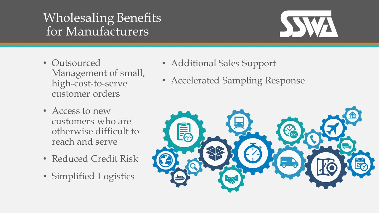 Wholesaling Benefits to Manufacturers